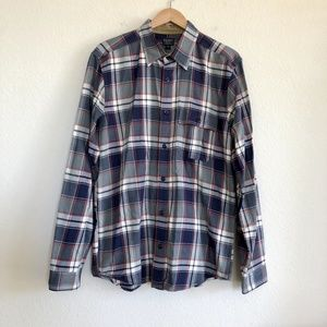 Filson Plaid Cotton Long Sleeve Shirt